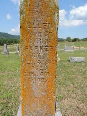 PARKR, ELLEN - Pike County, Ohio | ELLEN PARKR - Ohio Gravestone Photos