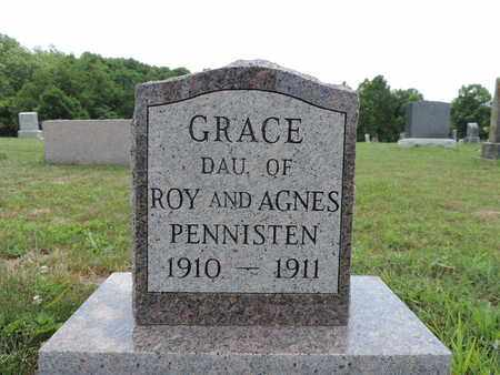 PENNISTEN, GRACE - Pike County, Ohio   GRACE PENNISTEN - Ohio Gravestone Photos