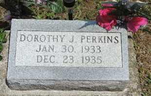 PERKINS, DOROTHY J. - Pike County, Ohio   DOROTHY J. PERKINS - Ohio Gravestone Photos
