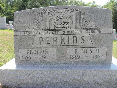 PERKINS, B. VESTA - Pike County, Ohio | B. VESTA PERKINS - Ohio Gravestone Photos
