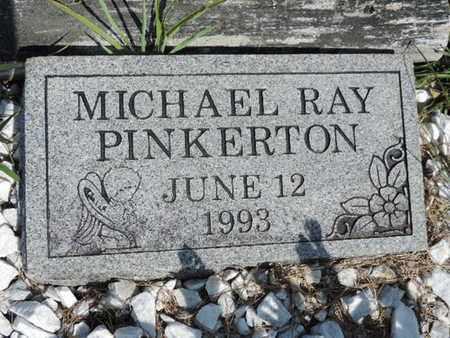 PINKERTON, MICHAEL RAY - Pike County, Ohio   MICHAEL RAY PINKERTON - Ohio Gravestone Photos