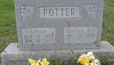 POTTER, GERALD - Pike County, Ohio | GERALD POTTER - Ohio Gravestone Photos