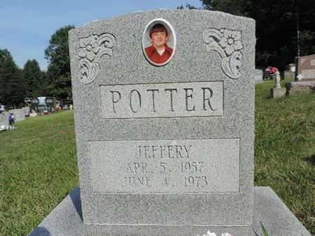 POTTER, JEFFERY - Pike County, Ohio | JEFFERY POTTER - Ohio Gravestone Photos