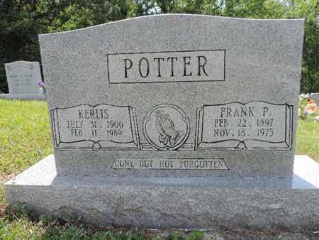 POTTER, KERLIS - Pike County, Ohio | KERLIS POTTER - Ohio Gravestone Photos