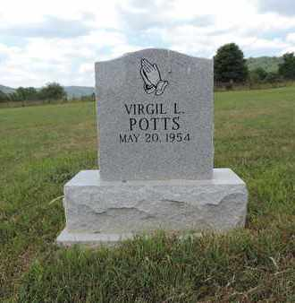 POTTS, VIRGIL L. - Pike County, Ohio | VIRGIL L. POTTS - Ohio Gravestone Photos
