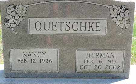 QUETSCHKE, HERMAN - Pike County, Ohio | HERMAN QUETSCHKE - Ohio Gravestone Photos