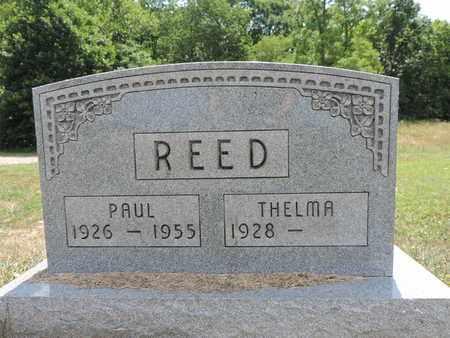 REED, THELMA - Pike County, Ohio   THELMA REED - Ohio Gravestone Photos