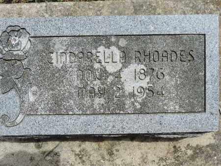 RHOADES, CINDARELLA - Pike County, Ohio | CINDARELLA RHOADES - Ohio Gravestone Photos
