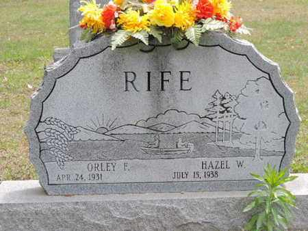 RIFE, ORLEY F. - Pike County, Ohio | ORLEY F. RIFE - Ohio Gravestone Photos