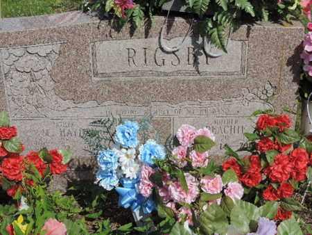 RIGSBY, PEACHIE - Pike County, Ohio | PEACHIE RIGSBY - Ohio Gravestone Photos