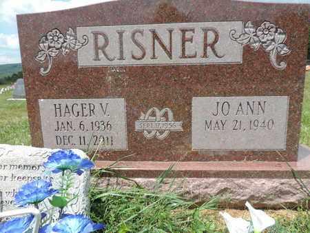 RISNER, HAGER V - Pike County, Ohio   HAGER V RISNER - Ohio Gravestone Photos