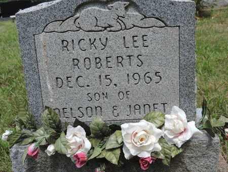ROBERTS, RICKY LEE - Pike County, Ohio | RICKY LEE ROBERTS - Ohio Gravestone Photos