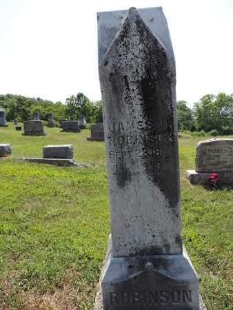 ROBINSON, JAMES - Pike County, Ohio | JAMES ROBINSON - Ohio Gravestone Photos
