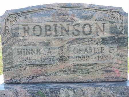 ROBINSON, CHARLIE E. - Pike County, Ohio | CHARLIE E. ROBINSON - Ohio Gravestone Photos