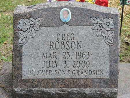 ROBSON, GREG - Pike County, Ohio | GREG ROBSON - Ohio Gravestone Photos