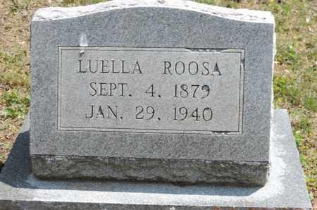 ROOSA, LUELLA - Pike County, Ohio | LUELLA ROOSA - Ohio Gravestone Photos