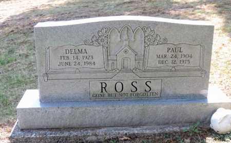 ROSS, PAUL - Pike County, Ohio | PAUL ROSS - Ohio Gravestone Photos