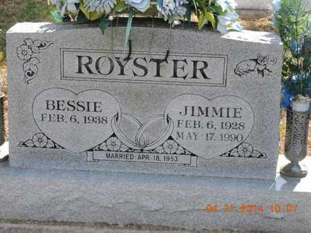 ROYSTER, JIMMIE - Pike County, Ohio | JIMMIE ROYSTER - Ohio Gravestone Photos