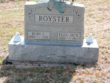 ROYSTER, RUBY L - Pike County, Ohio | RUBY L ROYSTER - Ohio Gravestone Photos