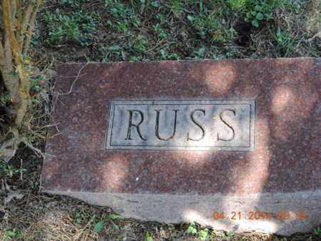 RUSS, - - Pike County, Ohio | - RUSS - Ohio Gravestone Photos