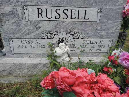 RUSSELL, CASS A. - Pike County, Ohio | CASS A. RUSSELL - Ohio Gravestone Photos
