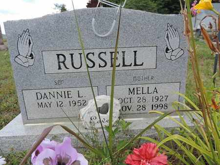 RUSSELL, MELLA - Pike County, Ohio | MELLA RUSSELL - Ohio Gravestone Photos
