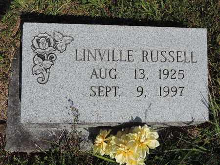 RUSSELL, LINVILLE - Pike County, Ohio   LINVILLE RUSSELL - Ohio Gravestone Photos