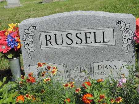 RUSSELL, DIANA A. - Pike County, Ohio | DIANA A. RUSSELL - Ohio Gravestone Photos
