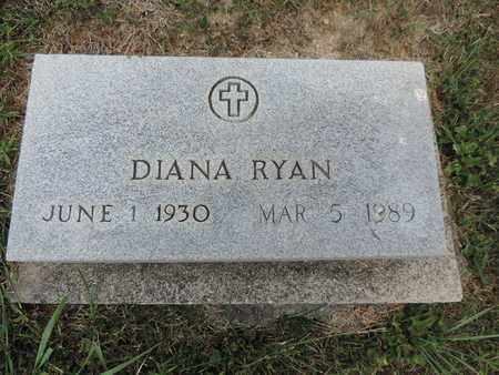 RYAN, DIANA - Pike County, Ohio | DIANA RYAN - Ohio Gravestone Photos