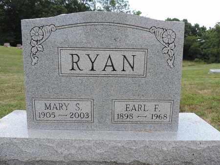 RYAN, EARL F. - Pike County, Ohio   EARL F. RYAN - Ohio Gravestone Photos