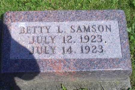 SAMSON, BETTY L. - Pike County, Ohio | BETTY L. SAMSON - Ohio Gravestone Photos