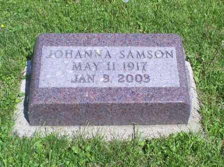 SAMSON, JOHANNA - Pike County, Ohio | JOHANNA SAMSON - Ohio Gravestone Photos