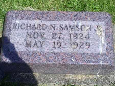 SAMSON, RICHARD N. JR. - Pike County, Ohio | RICHARD N. JR. SAMSON - Ohio Gravestone Photos