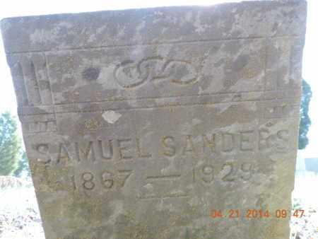 SANDERS, SAMUEL - Pike County, Ohio   SAMUEL SANDERS - Ohio Gravestone Photos