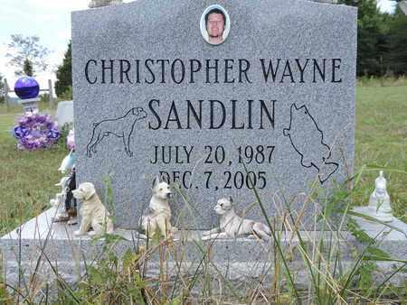 SANDLIN, CHRISTOPHER - Pike County, Ohio   CHRISTOPHER SANDLIN - Ohio Gravestone Photos