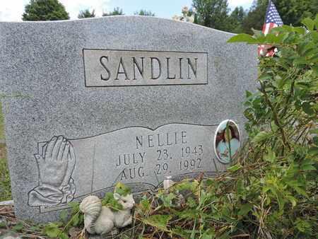 SANDLIN, NELLIE - Pike County, Ohio   NELLIE SANDLIN - Ohio Gravestone Photos