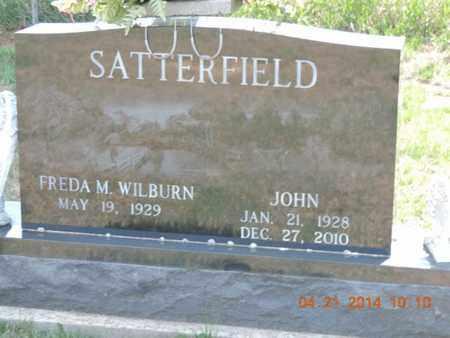 WILBURN SATTERFIELD, FREDA - Pike County, Ohio | FREDA WILBURN SATTERFIELD - Ohio Gravestone Photos