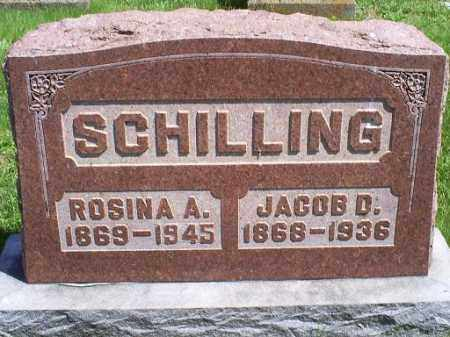 SCHILLING, JACOB D. - Pike County, Ohio | JACOB D. SCHILLING - Ohio Gravestone Photos