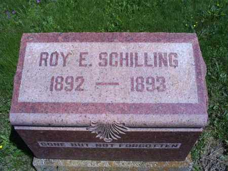 SCHILLING, ROY E. - Pike County, Ohio   ROY E. SCHILLING - Ohio Gravestone Photos