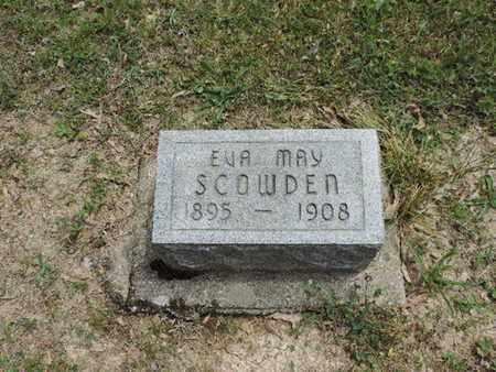 SCOWDEN, EVA MAY - Pike County, Ohio | EVA MAY SCOWDEN - Ohio Gravestone Photos