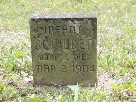 SCOWDEN, INFANT - Pike County, Ohio | INFANT SCOWDEN - Ohio Gravestone Photos