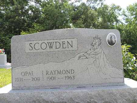 SCOWDEN, RAYMOND - Pike County, Ohio | RAYMOND SCOWDEN - Ohio Gravestone Photos