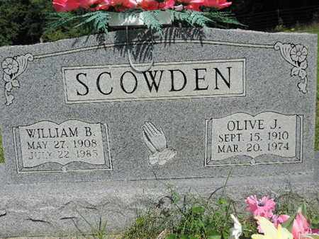 SCOWDEN, WILLIAM B. - Pike County, Ohio | WILLIAM B. SCOWDEN - Ohio Gravestone Photos