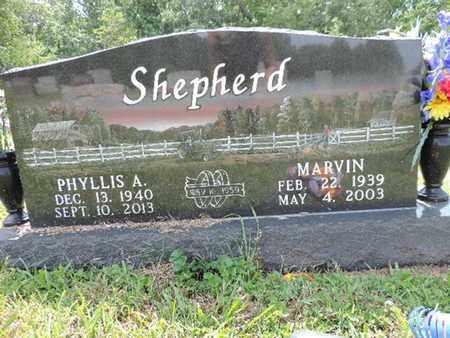 SHEPHERD, MARVIN - Pike County, Ohio   MARVIN SHEPHERD - Ohio Gravestone Photos