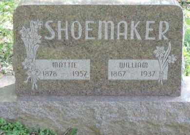 SHOEMAKER, WILLIAM - Pike County, Ohio | WILLIAM SHOEMAKER - Ohio Gravestone Photos