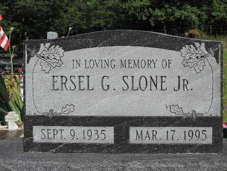 SLONE, ERSEL G. - Pike County, Ohio | ERSEL G. SLONE - Ohio Gravestone Photos
