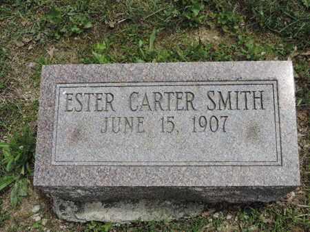SMITH, ESTER - Pike County, Ohio | ESTER SMITH - Ohio Gravestone Photos