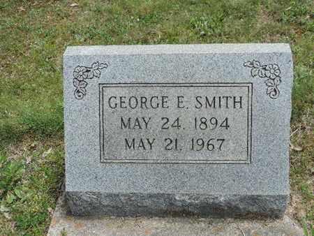 SMITH, GEORGE E. - Pike County, Ohio   GEORGE E. SMITH - Ohio Gravestone Photos