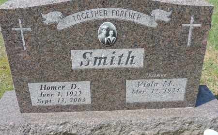 SMITH, HOMER D. - Pike County, Ohio | HOMER D. SMITH - Ohio Gravestone Photos