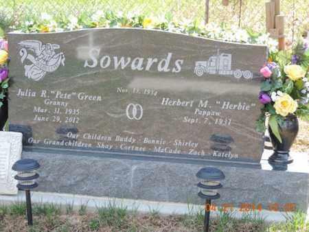SOWARDS, HERBERT - Pike County, Ohio   HERBERT SOWARDS - Ohio Gravestone Photos